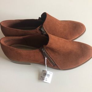 NWT American Eagle brown suede boots Size 11